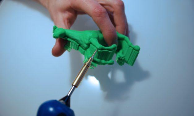 Retouch3D: elektrisch gereedschap voor nabewerken FDM prints