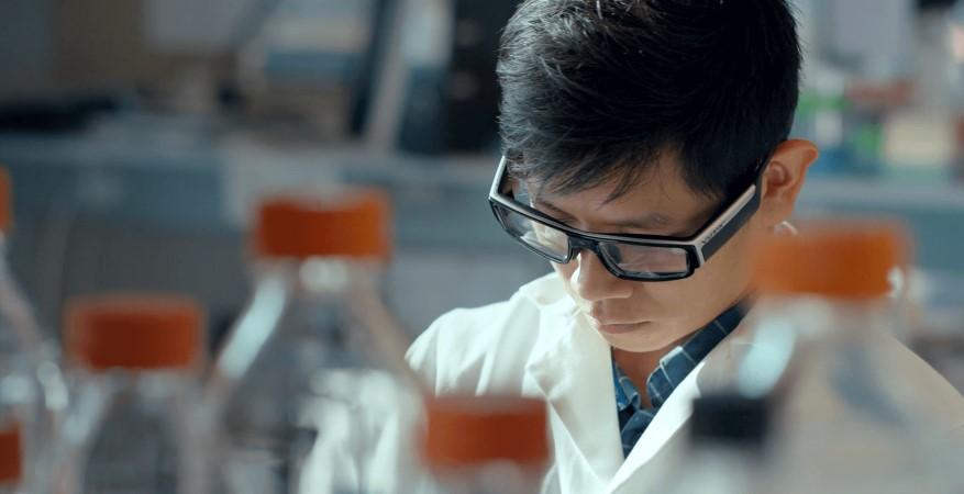 Photo of Luxexcel 3D print brillenglazen op sterkte voor Vuzix Blade AR bril