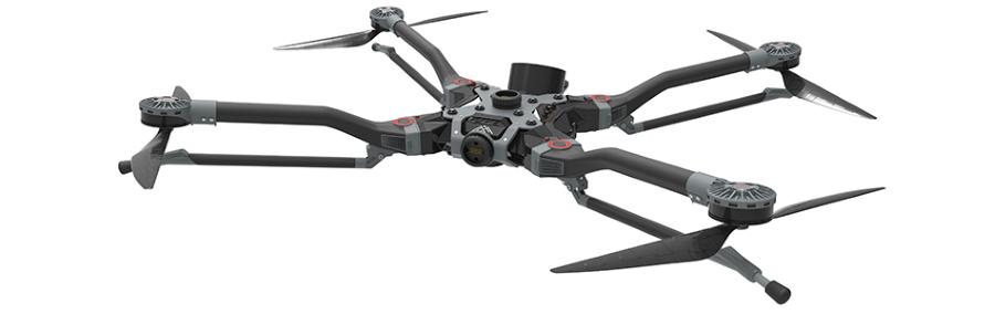CRP Group op CES 2018 met Windform poeder geprinte drone en racemotor