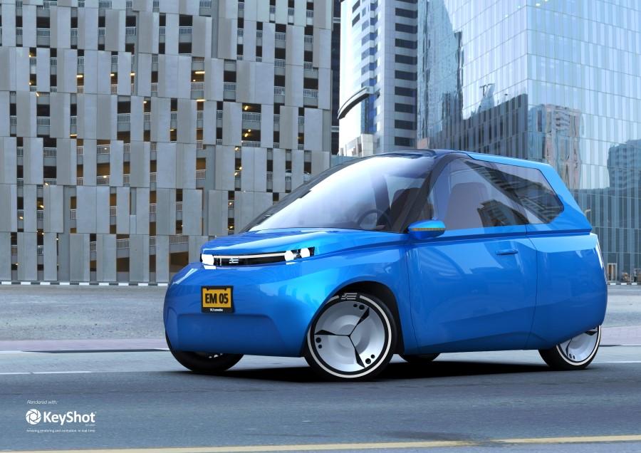 Oceanz gebruikt gerecycled PA12 voor elektrische auto Noah