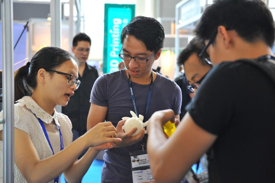 Chinees 3D print ecosysteem presenteert zich op Asiamold