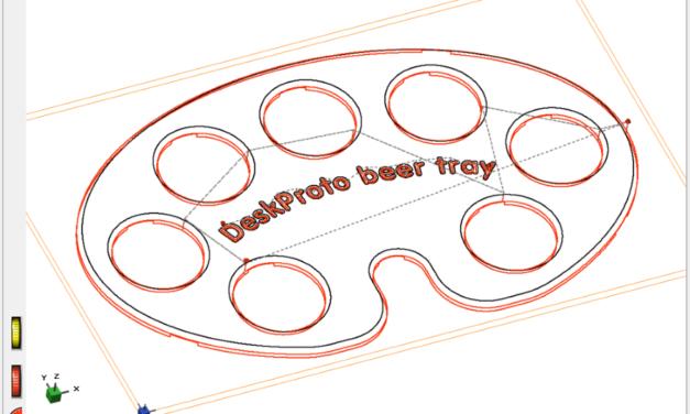 DeskProto V7 free edition: gratis CAM software voor CNC frezen