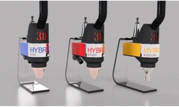 3D-Hybrid maakt van CNC machines 3D metaalprinters