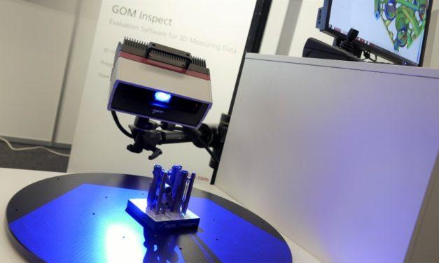 GOM en Melotte demonstreren 3D scantechnologie voor 3D printen