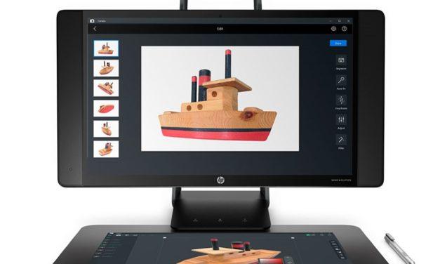HP scansoftware geïntegreerd in Ultimaker Cura