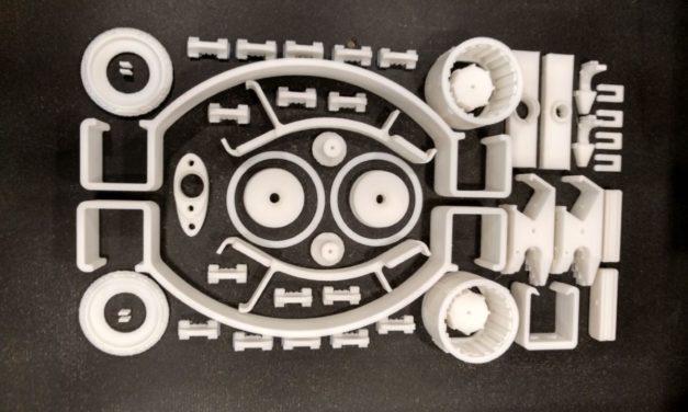 SDD 3D print in 30 uur 200 machine-onderdelen