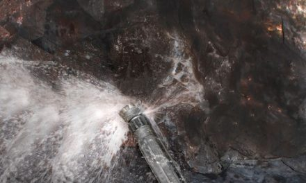 3D geprinte behuizing Wassara DTH boorhamer doorstaat corrosietesten