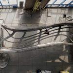 MX3D klaar met 3D printen brug