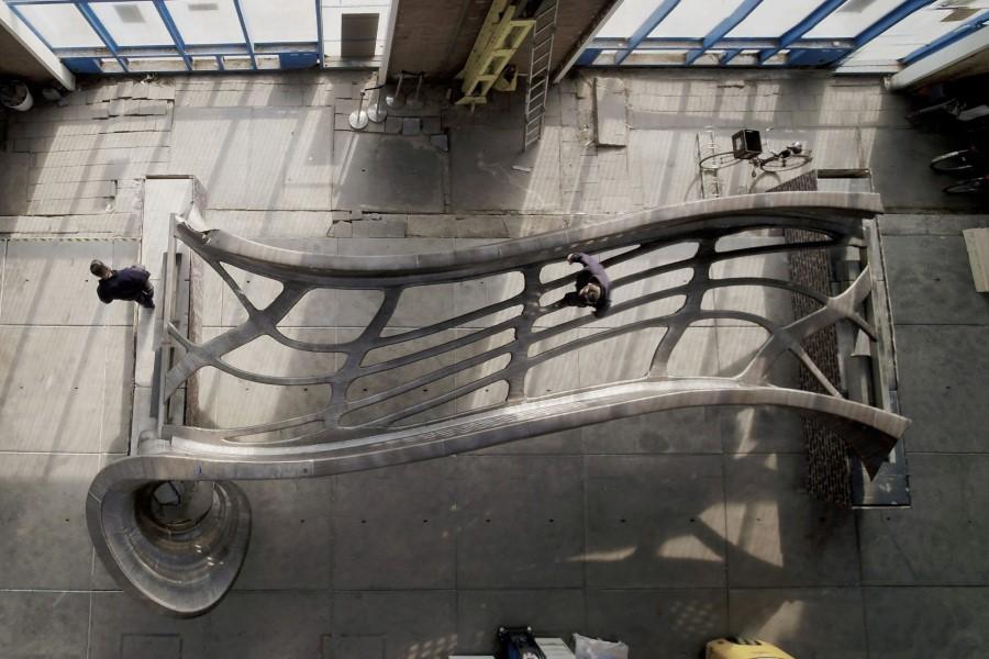Photo of MX3D klaar met 3D printen brug