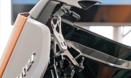 BMW 3D print steunen cabriokap seriemodel BMW i8 Roadster