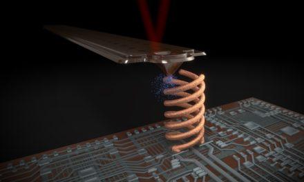FluidFM printtechnologie: 3D metaalprinten op halfgeleiders