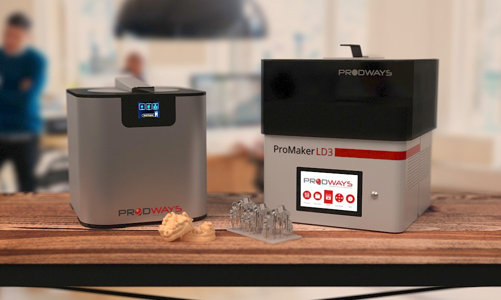 Photo of Prodways en W2P lanceren ProMaker LD-3 op basis abonnement