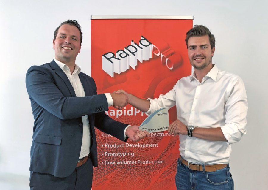 Samenwerking Mikrocentrum en Flam3D rond RapidPro 2019