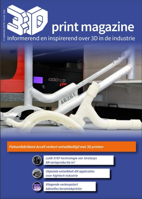 Juli editie 3D Print magazine