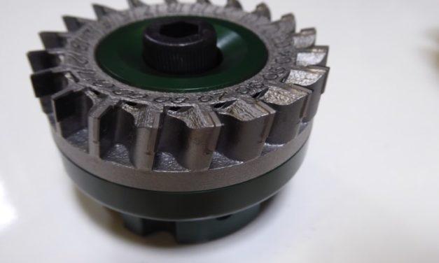 3D geprinte freesgereedschappen in zwang