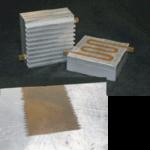 Warmtewisselaar van aluminium en koper voor ruimtevoertuigen