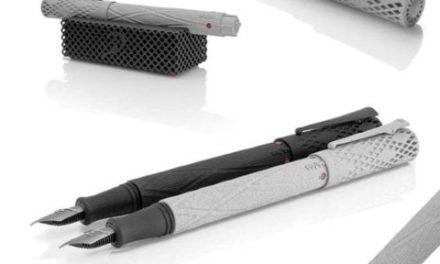 TypeOne 3D geprinte vulpen met titanium penpunt