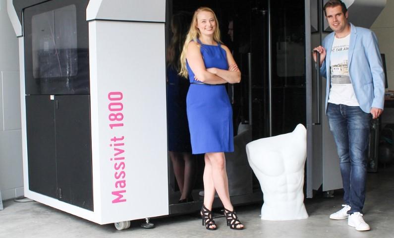 Photo of Benelux-primeur 3D Next Level: eerste Massivit 3D printer