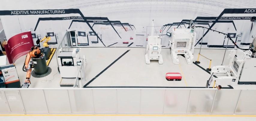 Pilotfabriek NextGenAM in gebruik bij Premium Aerotec