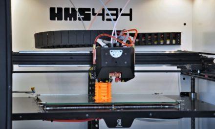 Duitse première voor Nederlandse HMS434 3D printer
