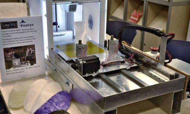 Is 'robot' de oplossing voor serieproductie met 3D printfarm?