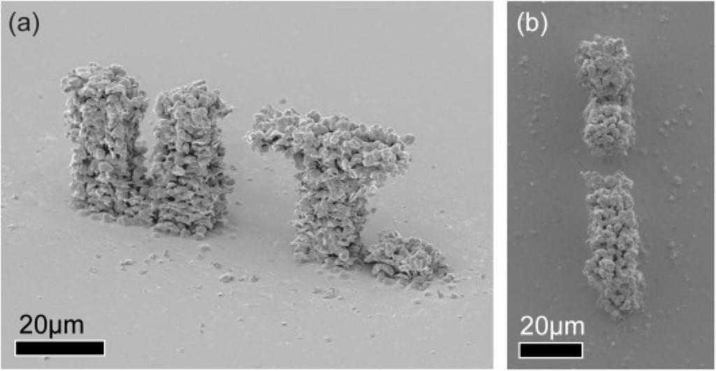 Photo of Twentse onderzoekers 3D printen micro mechanische structuur in goud