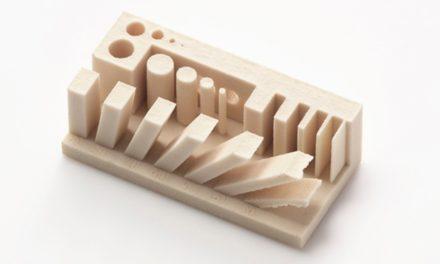 Canon reduceert krimp bij 3D printen keramiek