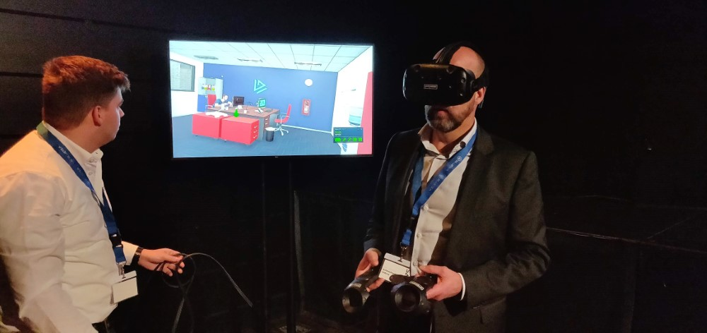 BlueTea ontwikkelt Safy: Virtual Reality VCA training