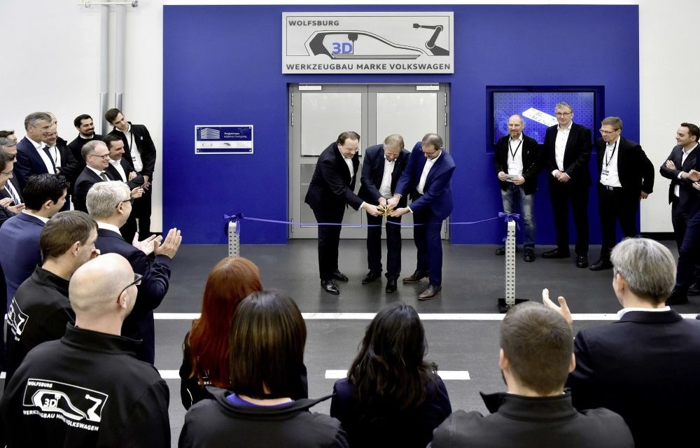 Volkswagen Toolmaking opent 3D print center