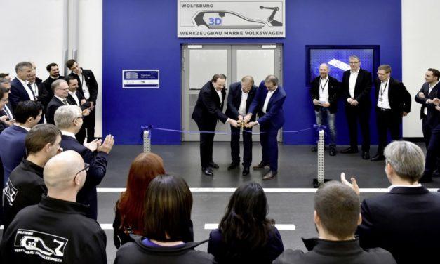 Volkswagen Toolmaking opent 3D print center