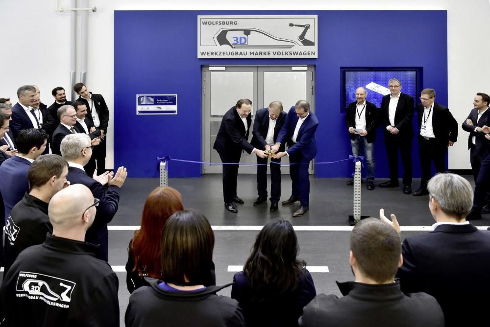 Photo of Volkswagen Toolmaking opent 3D print center