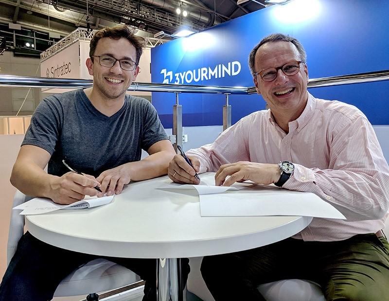 Photo of 3Yourmind strikt Stefan Ritt