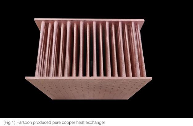 Photo of Farsoon 3D print met puur koper