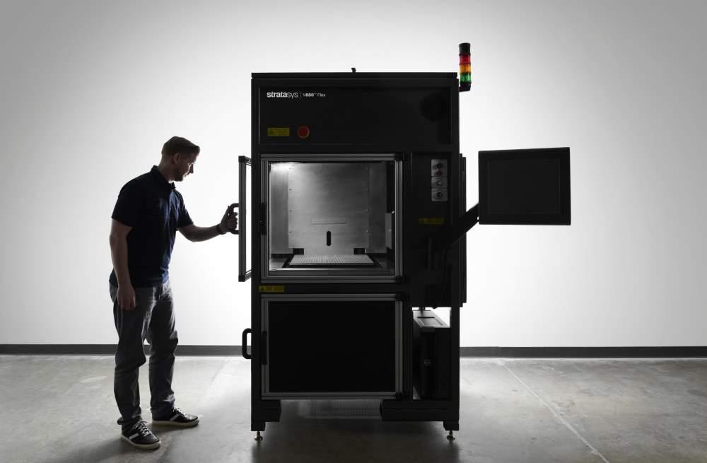 Photo of Stratasys V650 Flex: groot formaat SLA printer met DSM-Somos materiaal