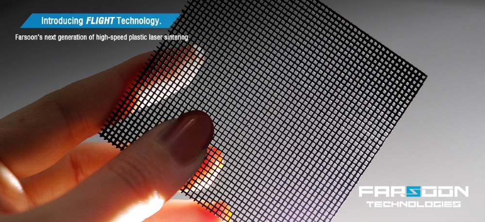 Farsoon past fiber laser toe in high speed laser sinteren
