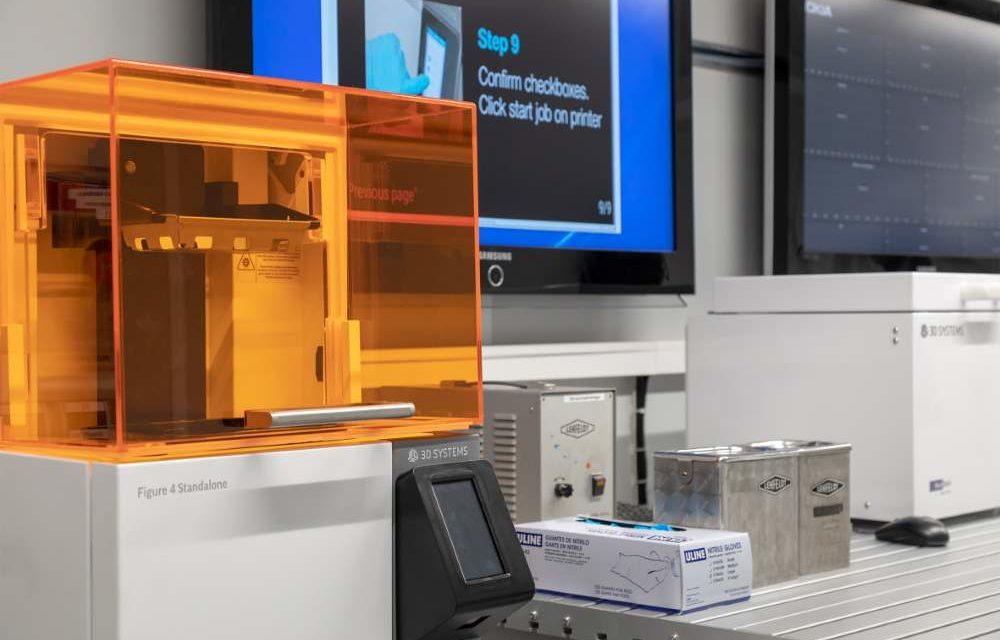 Nokia's mobiele fabriek met Figure 4 3D printer
