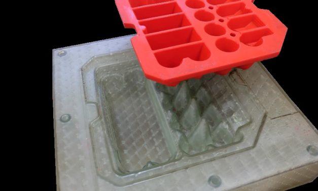 Kobato giet polyurethaan met 3D geprinte gietmallen