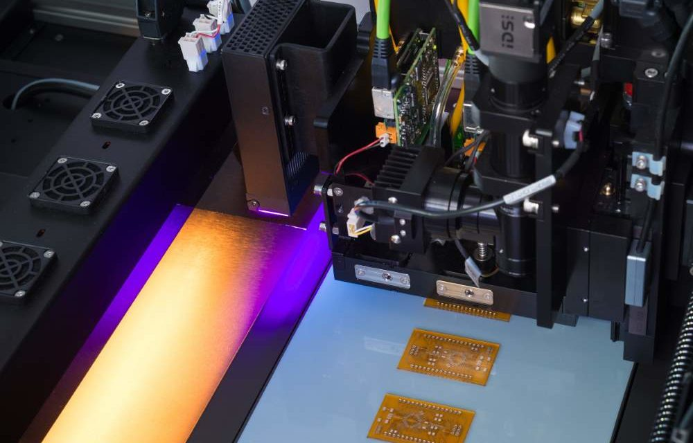 Primeur: Nano Dimension PCB-printer op Electronic Applications