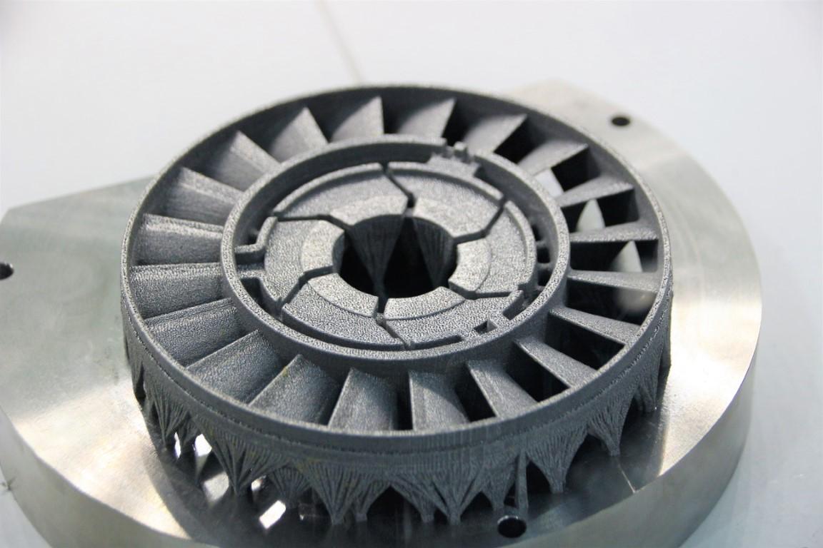 Photo of Aurora Labs print eerste delen met snelle poederbed metaalprinter
