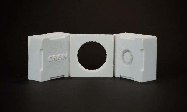 DSM Somos voor Origin P3 printtechnologie