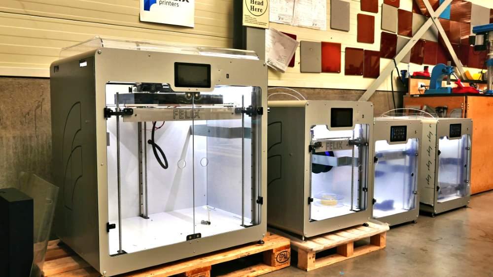 Photo of Groot formaat FDM printers van Felixprinters