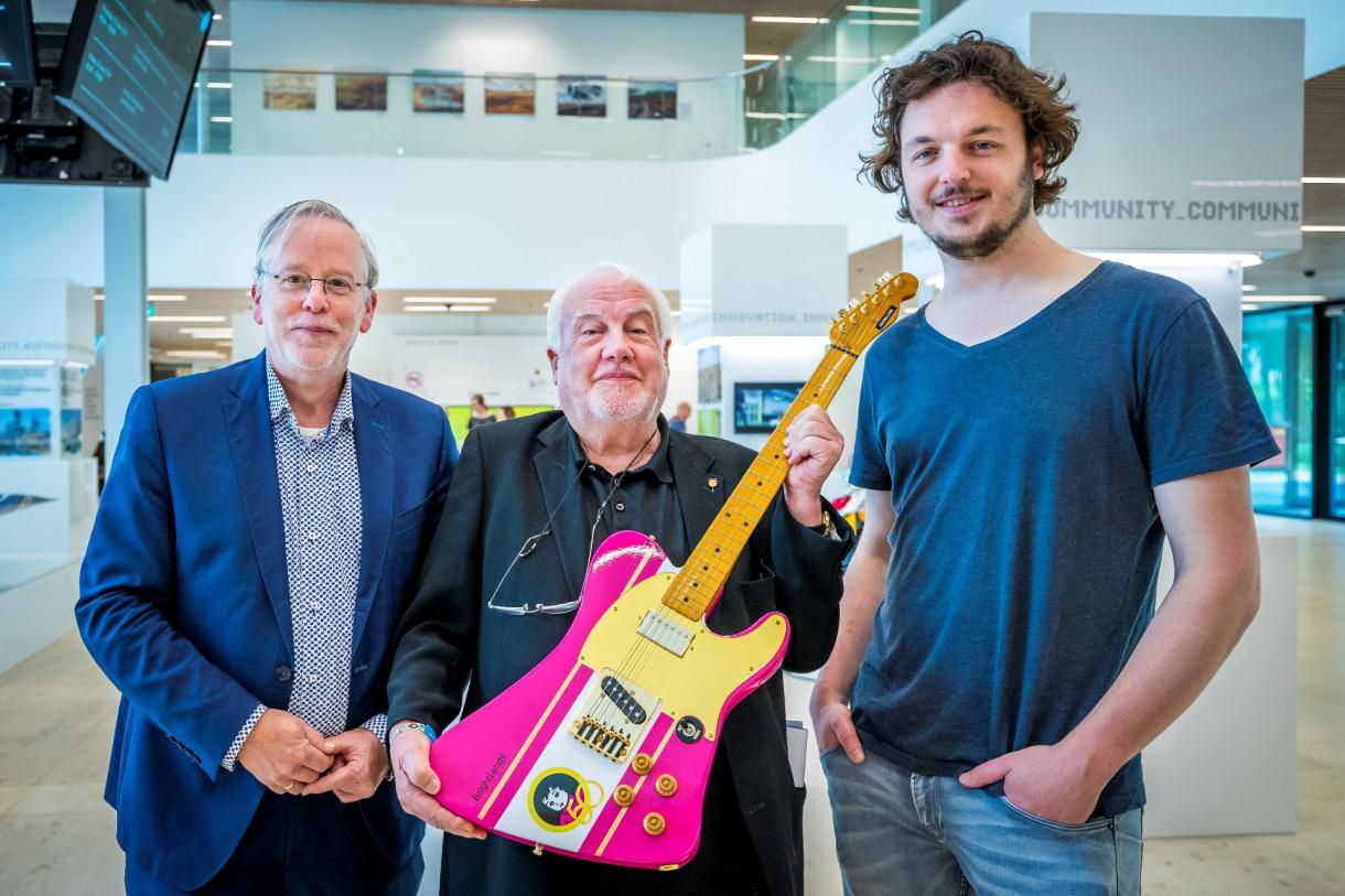 Photo of 3D geprinte gitaar voor jubileum editie Pinkpop