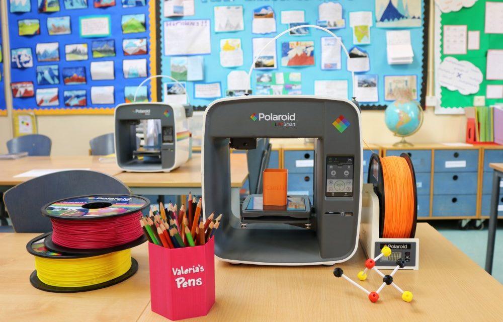 Polaroid PlaySmart 3D printer mikt op  het onderwijs