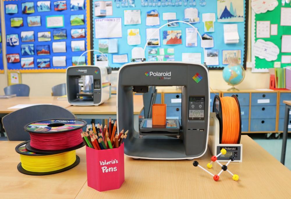 Photo of Polaroid PlaySmart 3D printer mikt op  het onderwijs