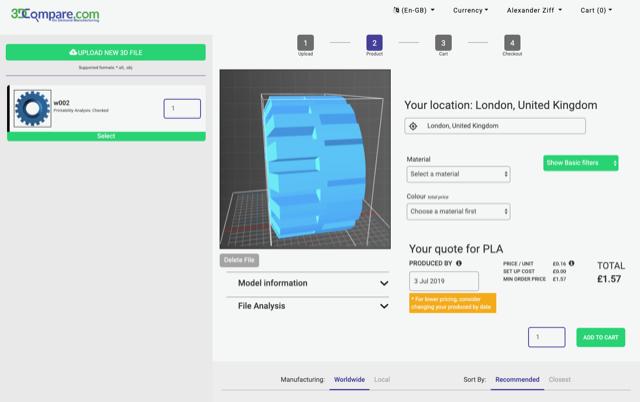 3DCompare verbreedt on-demand platform dankzij extra funding