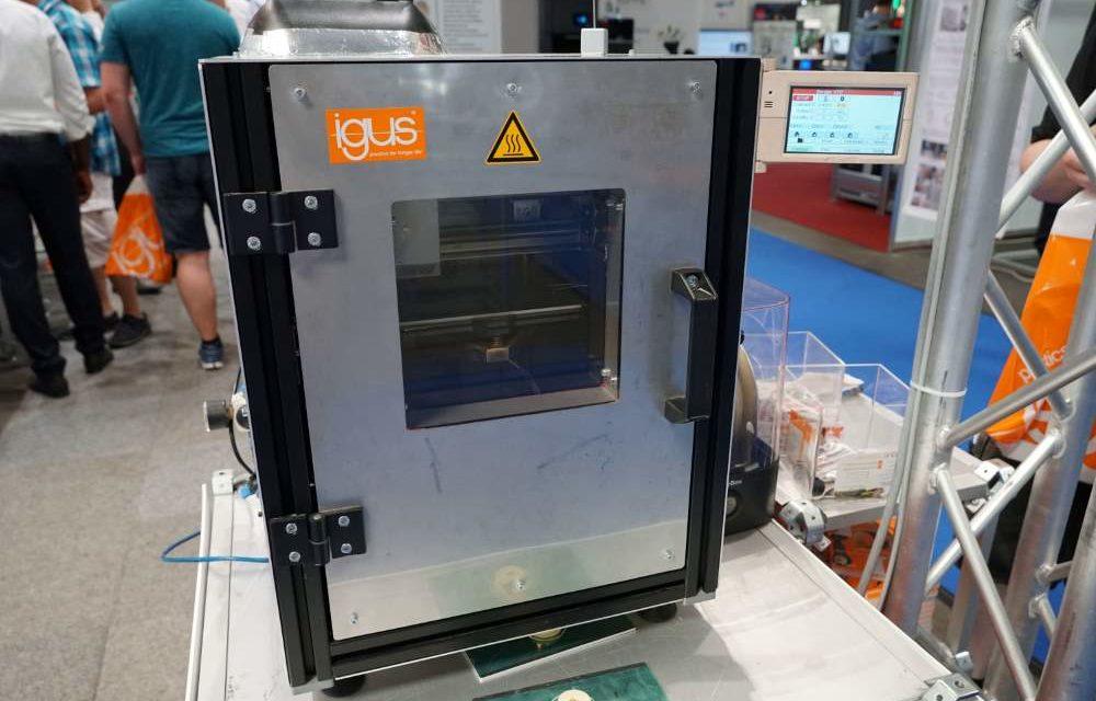 Igus biedt zelfbouw hoge temperatuur 3D printer