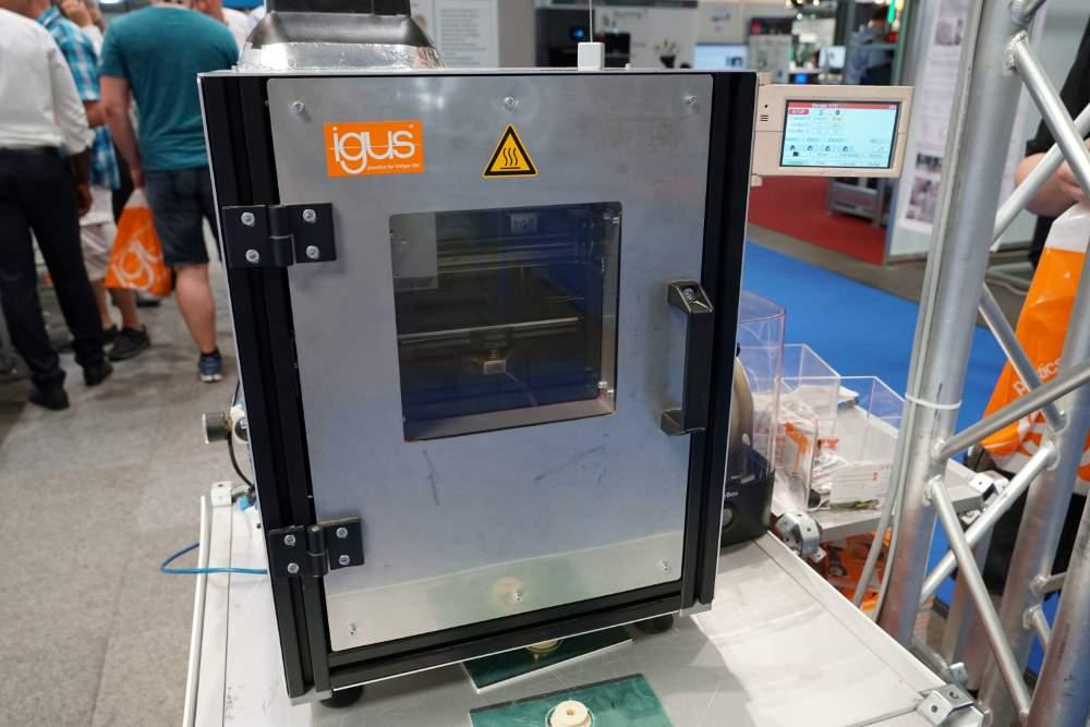 Photo of Igus biedt zelfbouw hoge temperatuur 3D printer