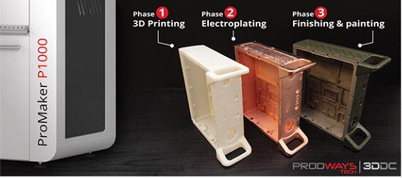 Photo of Britse F1-toeleverancier combineert Prodways Promaker met electroplating proces
