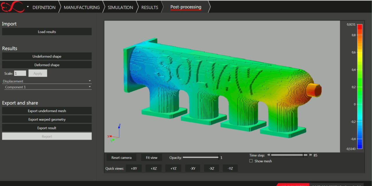 Material simulation helps 3D printing to the next stage