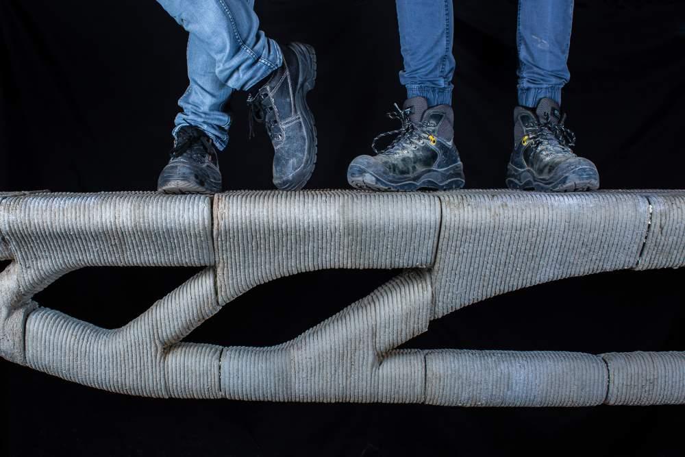Photo of Vertico en UGent 3D printen betonbrug: 60% materiaalbesparing